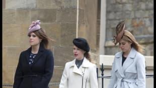 Prinzessin Eugenie, Prinzessin Beatrice und Lady Louise Windsor