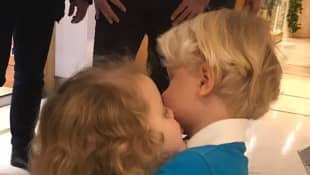 Prinzessin Gabriella und Prinz Jacques von Monaco