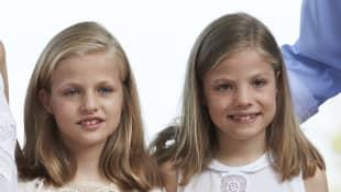 Prinzessin Leonor und Sofia