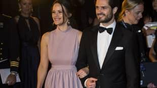 Prinzessin Sofia und Prinz Carl Philip von Schweden