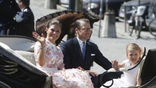 Prinzessin Victoria von Schweden, Prinz Daniel und Prinzessin Estelle