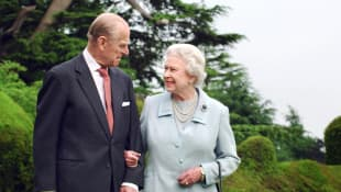 Prinz Philip und Königin Elisabeth II