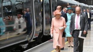 Queen Elizabeth II. und Prinz Philip