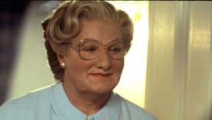 "Robin Williams in der gleichnamigen Titelrolle in ""Mrs. Doubtfire"""