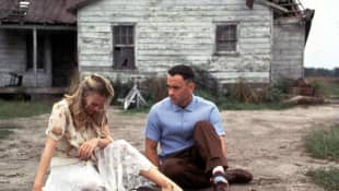 "Robin Wright und Tom Hanks in ""Forrest Gump"""