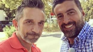 Sükrü Pehlivan und Mauro Corradino