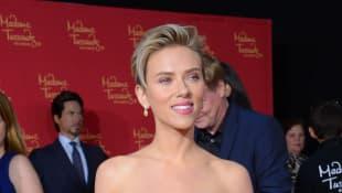 Scarlett Johansson showing her perfect body
