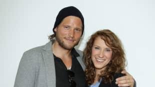 Sebastian Ströbel und Chiara Schoras