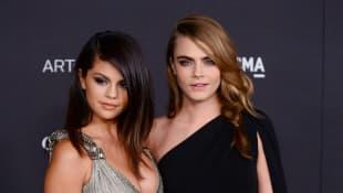 Selena Gomez und Cara Delevingne