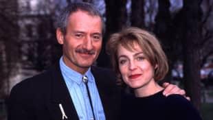 Sepp Schauer und April Hailer 1995