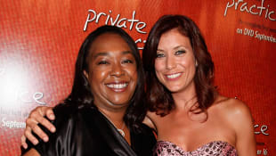 Shonda Rhimes und Kate Walsh