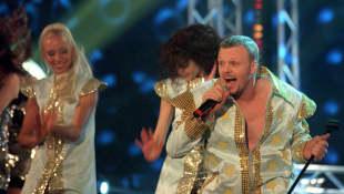 Stefan Raab beim Eurovision Song Contest 2000