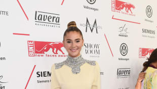 Stefanie Giesinger bei den New Faces Awards in Berlin, Germany's next Topmodel