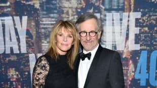 Steven Spielberg und Kate Capshaw
