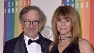 Steven Spielberg und Ehefrau Kate Capshaw