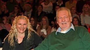 Tamme Hanken mit seiner Ehefrau