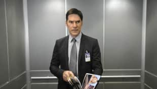 "Thomas Gibson as ""Aaron Hotchner"" in ""Criminal Minds"""