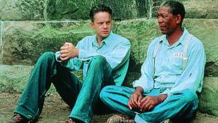 Tim Robbins und Morgan Freeman