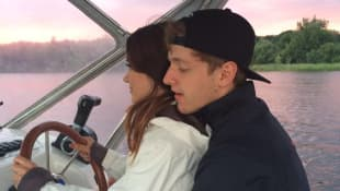 Timur Bartels mit seiner hübschen Freundin