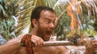 """Tom Hanks in """"Cast Away – Verschollen"""""""
