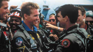 Top Gun Tom Cruise Val Kilmer