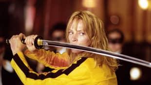 """Uma Thurman als """"Die Braut"""" in """"Kill Bill"""""""