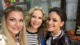 Valentina Pahde, Katja Burkard und Janina Uhse