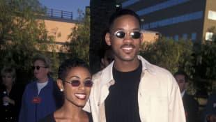 Will Smith und Jada Pinkett Smith im Jahr 1996