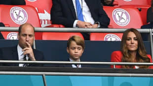 Prinz William, Prinz George und Herzogin Kate