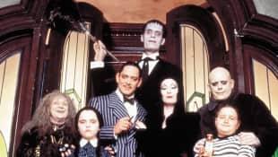 """""""Die Addams Family""""-Darsteller im Jahr 1991"""