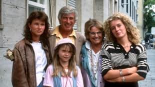"""""""Die glückliche Familie""""-Darsteller"""