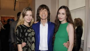 Giorgia May Jagger, Mick Jagger und Elizabeth Jagger