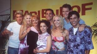 """Marienhof""-Stars im Jahr 2000"