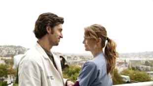 """""""Meredith Grey"""" (Ellen Pompeo) und """"Derek Shepherd"""" (Patrick Dempsey)"""
