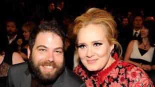 Adele und Simon Konecki