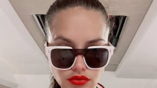 Adriana Lima brüste Bikini Dekolleté