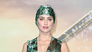 Amber Heard Aquaman Premiere
