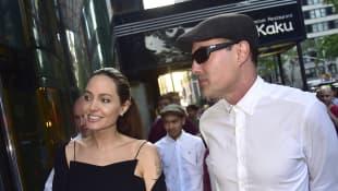 Angelina Jolie und James Haven heute