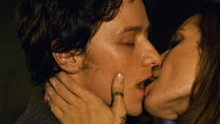 "James McAvoy und Angelina Jolie in ""Wanted"""