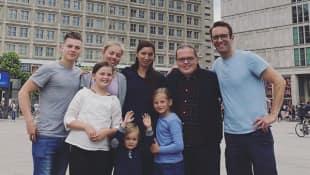 Angelo Kelly und seine Familie