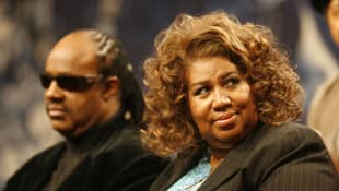 Stevie Wonder und Aretha Franklin
