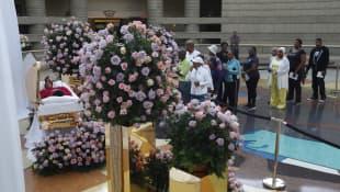 Aretha Franklin Beerdigung