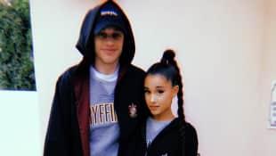 Ariana Grande und Pete Davidson