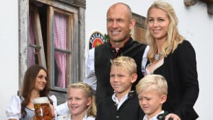 Arjen Robben Familie Oktoberfest