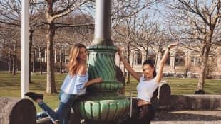 """""""Der Bachelor""""-Gewinnerin Kristina und Samira verstehen sich immer noch gut"""
