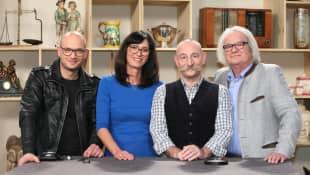 """""""Bares für Rares"""" Sven Deutschmanek, Dr. Heide Rezepa-Zabel, Horst Lichter und Albert Maier"""