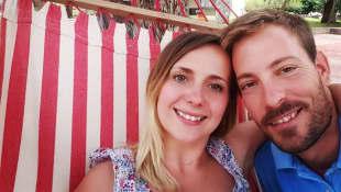 """Anna und Gerald von """"Bauer sucht Frau"""" in Namibia"""