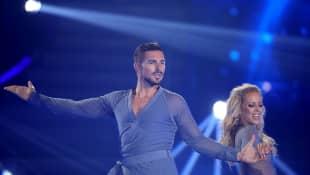 "Benjamin Piwko und Isabel Edvardsson bei ""Let's Dance"""