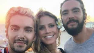 Heidi Klum Bill Kaulitz Tom Kaulitz