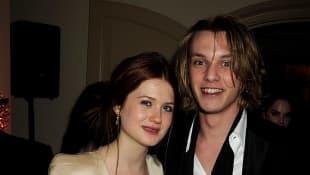 Bonnie Wright und Jamie Campbell-Bower